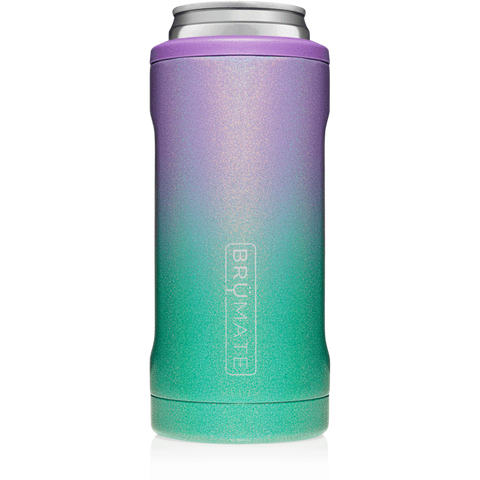 Brümate Hopsulator Slim (12oz) - Glitter Mermaid