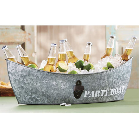Tin Boat Party Tub