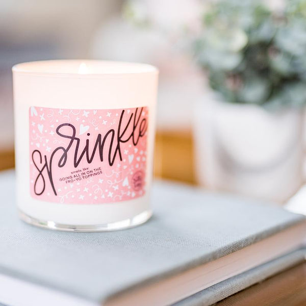 Sprinkle Candle