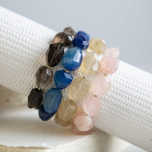 DIY Gemstone Nugget Bracelet Kit