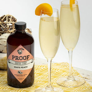 Proof White Peach Cocktail Syrup