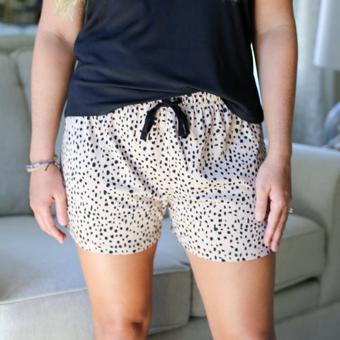 Cheetah Sleep Shorts