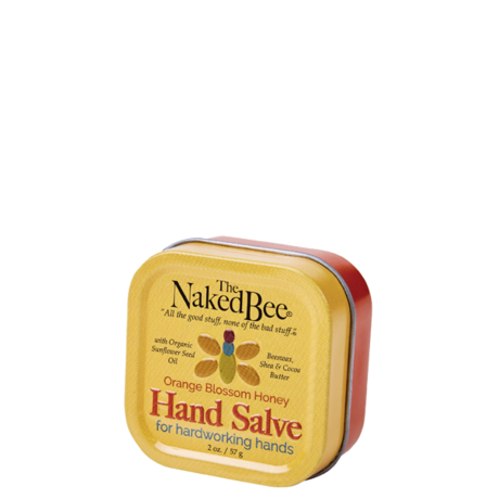 The Naked Bee - Hand Salve in Orange Blossom Honey