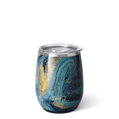 Swig Starry Night 14oz Stemless Wine Cup