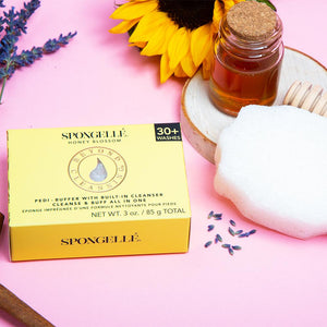 Spongellé - Pedi Buffer - Honey Blossom