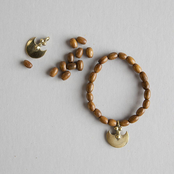 DIY Wood and Brass Bracelet Kit