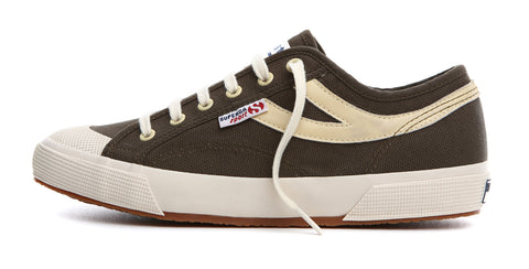 Superga Panatta Military Green-Ecru
