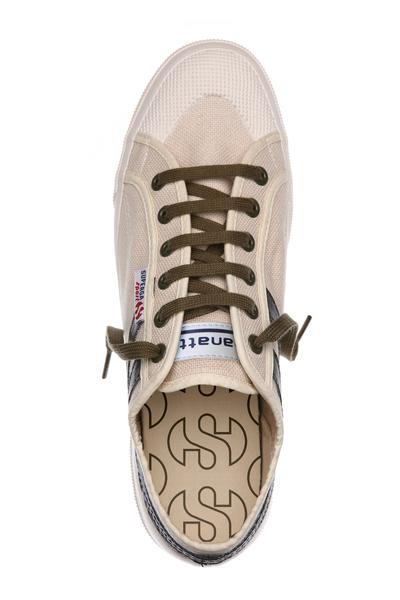 Superga Panatta <br> Ecru-MIlitary Green