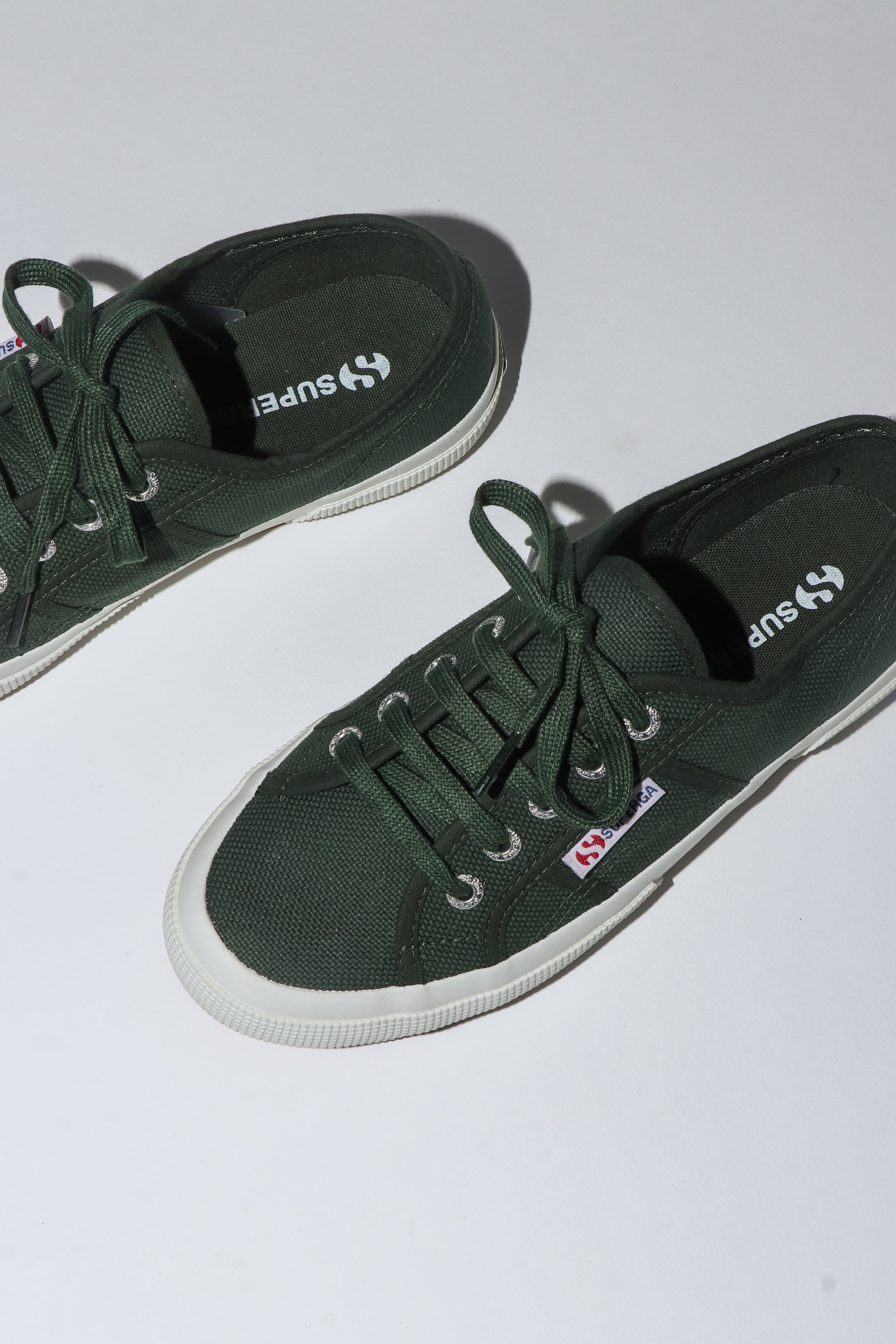 Superga 2750 <br> Dark Green