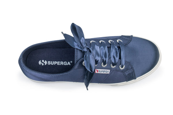 Superga 2730 Satin - Blue Navy <br> S00C3W0 - 934A