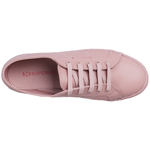 Superga 2730 Nappa Leather <br> Total Pink Skin