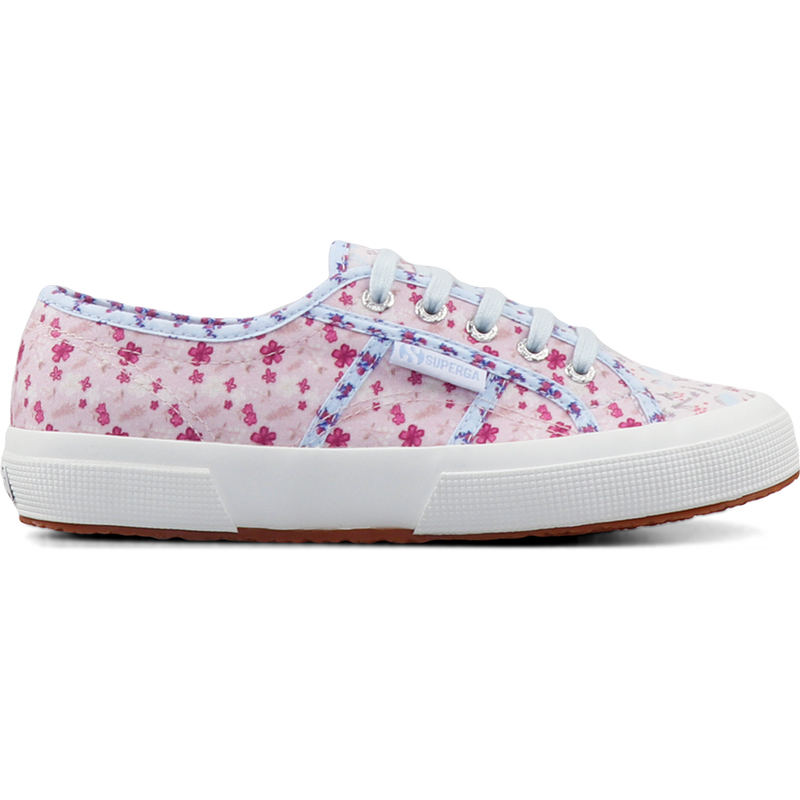 Superga 2750 Flower Patchwork <br> Light Pink