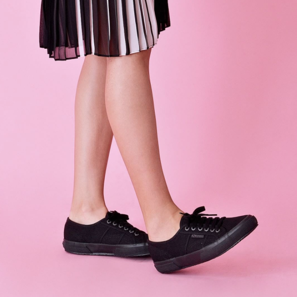 Superga 2750 Black - Total <br> S000010 - 997