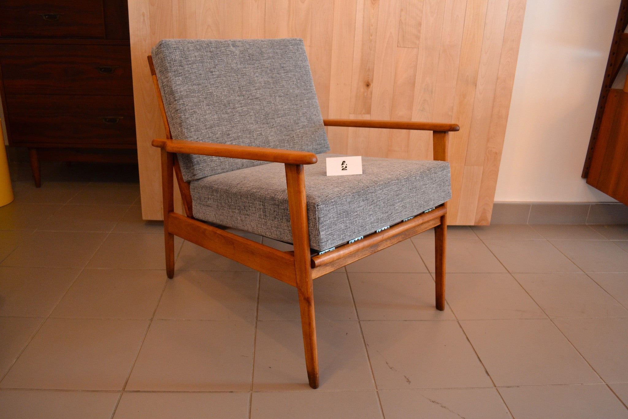 Mid century modern fauteuil style scandinave a 2 mobilier - Fauteuil style scandinave ...