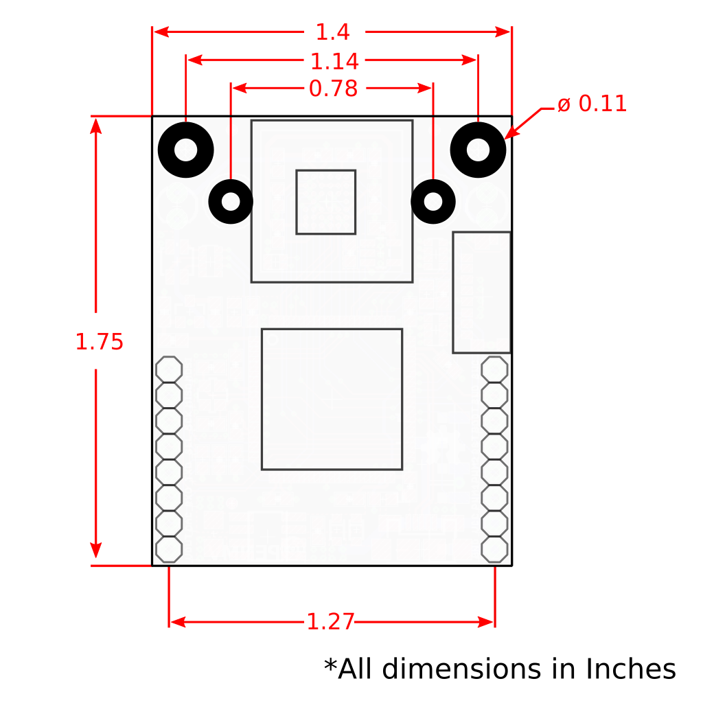 Openmv Cam M7 Usb Web Camera Wiring Diagram Dimensions
