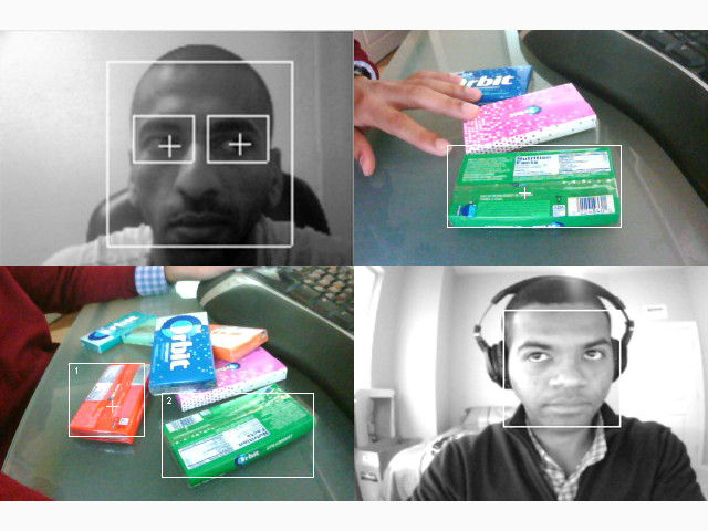 Face and Color Tracking