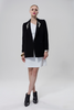 Wool Coat With Swarovski - Luxtrada