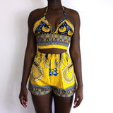 JAUNE TERIC BRALET (INTRICATE BAND)