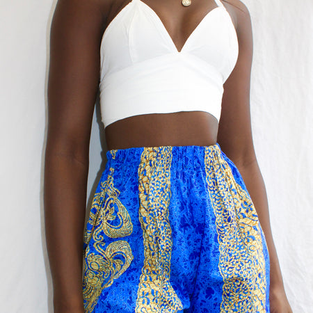 ROYAL BLUE DAHLIA BRALET