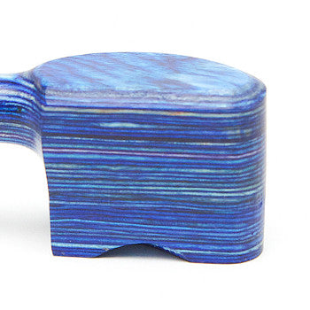 Pipe Wooden Blue w. Cap