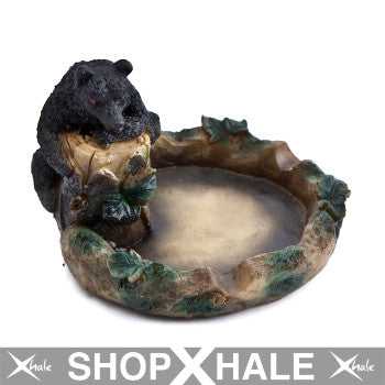 Ceramic Ashtray Bear