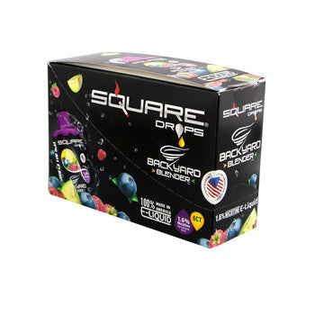 Square Drops 6 Ct Box - Backyard Blender 16mg