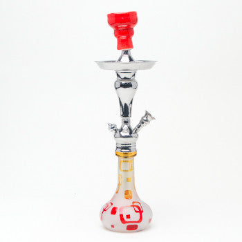 Aladin Hookah Retro Orange Red