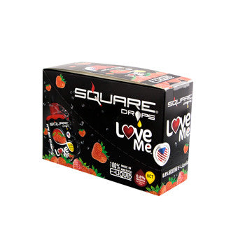 Square Drops 6 Ct Box - Love Me 8mg