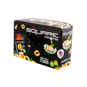 Square Drops 6 Ct Box - Peach Sunrise 16mg