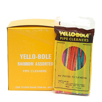 Yello-Bole Pipe Cleaner Rainbow Assorted