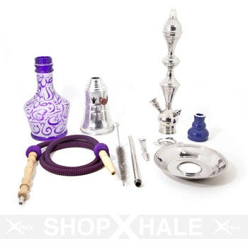 Aladin Hookah Arabica Large Purple