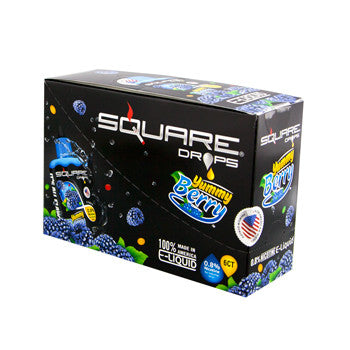Square Drops 6 Ct Box - Yummy Berry 8mg