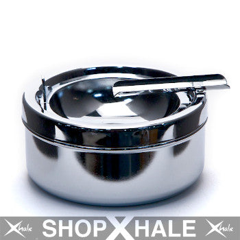 Cigar Chrome Ashtray