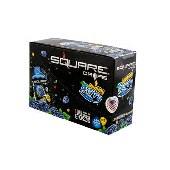 Square Drops 6 Ct Box - Yummy Berry 16mg