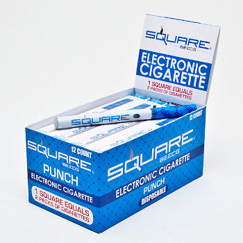 Square 82 E-cig Fruit Punch 18mg. BLUE