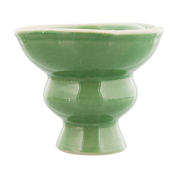 Ceramic Hookah Heads - Green