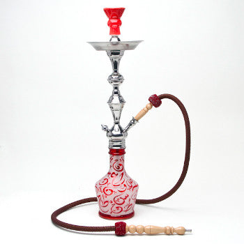 Aladin Hookah Arabica Large Red