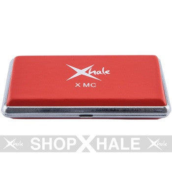 Xhale Ego Metal Case Pack - Red