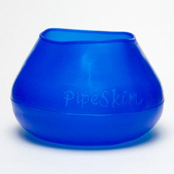 Pipe Skin Small Blue