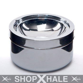 Stainless Ashtray Silver