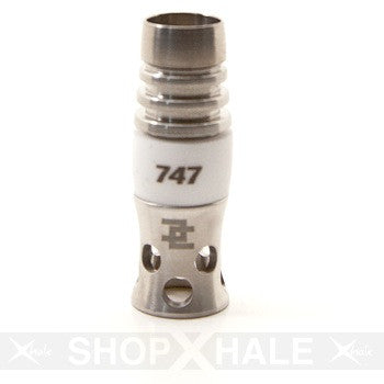 Ceramic Domeless 747 14mm Titanium Nail