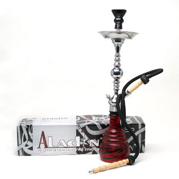 Aladin Hookah Zebra Large Red Black