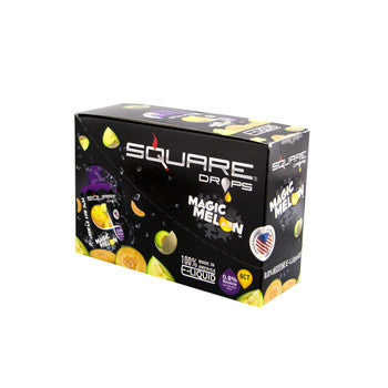 Square Drops 6 Ct Box - Magic Melon 8mg