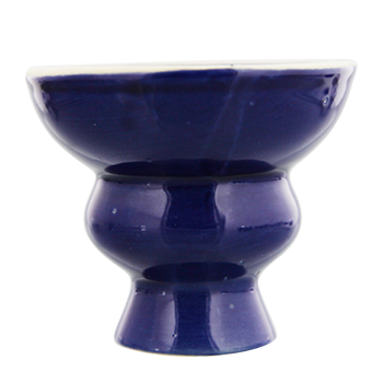 Ceramic Hookah Heads - Blue
