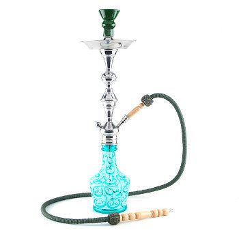 Aladin Hookah Arabica Large Green
