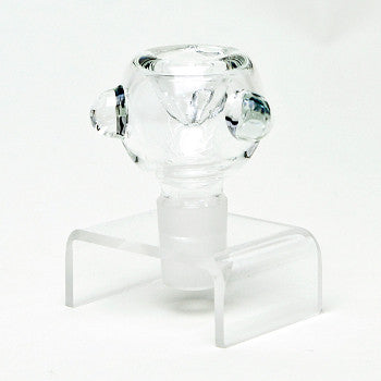 19 Gauge Clear Bowl W. Marble