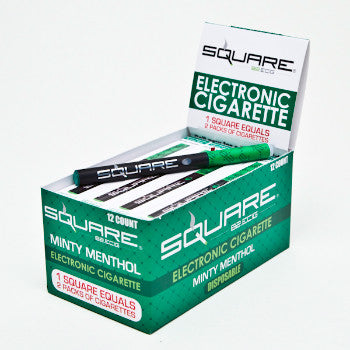 Square 82 E-cig Menthol 18mg. GREEN