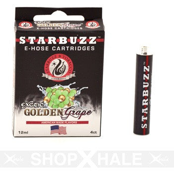 E-Hose Cartridge 4 Ct Pack - Golden Grape 1.5mg Nicotine