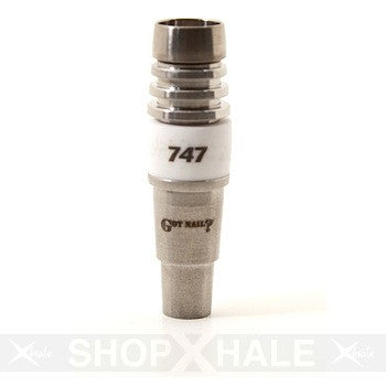 747 Ceramic Duo Nail 14mm/19mm Male