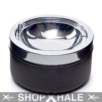 Stainless Ashtray Black